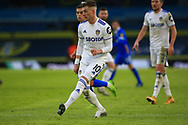 Ezgian Alioski (10) of Leeds United  passes the ball during the Premier League match between Leeds United and Brighton and Hove Albion at Elland Road, Leeds, England on 16 January 2021.