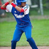 Baseball - 2009 European Championship Juniors (under 18 years old) - Bonn (Germany) - 03/08/2009 - Day 1 - Andy Paz (France)