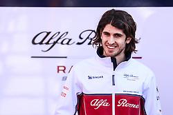 March 1, 2019 - Barcelona, Barcelona, Spain - Antonio Giovinazzi from Italy with 99 Alfa Romeo Racing portrait during the Formula 1 2019 Pre-Season Tests at Circuit de Barcelona - Catalunya in Montmelo, Spain on March 1. (Credit Image: © Xavier Bonilla/NurPhoto via ZUMA Press)