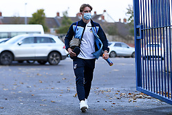 Luke McCormick of Bristol Rovers arrives at Memorial Stadium prior to kick off - Mandatory by-line: Ryan Hiscott/JMP - 27/10/2020 - FOOTBALL - Memorial Stadium - Bristol, England - Bristol Rovers v Hull City - Sky Bet League One