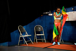 March 1, 2018 - Birmingham, GREAT BRITAIN - 180301 Genzebe Dibaba of Ethiopia after winning the womenÂ«s 3000 m during day one of the IAAF World Indoor Championships on March 1, 2018 in Birmingham..Photo: Jon Olav Nesvold / BILDBYRN / kod JE / 160205 (Credit Image: © Jon Olav Nesvold/Bildbyran via ZUMA Press)
