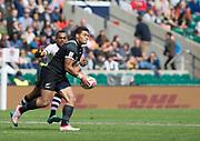 "Twickenham, Surrey United Kingdom. Tone NG SHIU, running during the Pool C match, New Zealand vs Fiji, during the<br /> ""2017 HSBC London Rugby Sevens"",  Saturday 20/05/2017 RFU. Twickenham Stadium, England    <br /> <br /> [Mandatory Credit Peter SPURRIER/Intersport Images]"