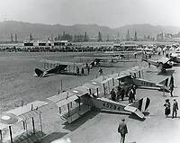 1920 Chaplin Airdrome & Mercury Aviation at DeMille Field#2 at Wilshire & Fairfax Blvds.