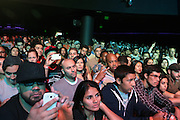 September 22, 2012- Los Angeles, CA:  Audience attends the Lyricist Lounge 20th Year Reunion Party-Los Angeles held at Club Nokia at LA Live on September 22, 2012 in Los Angeles, California. The Lyricist Lounge is a hip hop showcase of rappers, emcees, DJ's, and Graffiti artists. It was founded in 1991 by hip hop aficionados Danny Castro and Anthony Marshall. It was a series of open mic events hosted in a small studio apartment in the Lower East Side section of New York City. (Terrence Jennings)