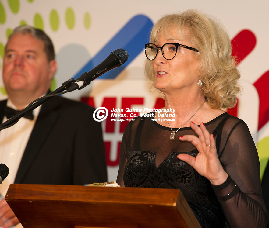 24-11-18. Meath Business and Tourism Awards 2018 at the Newgrange Hotel, Navan.<br /> Mary McGuigan, Group Commercial Manager, Celtic Media Group <br /> John Quirke / www.quirke.ie<br /> ©John Quirke Photography, Unit 17, Blackcastle Shopping Cte. Navan. Co. Meath. 046-9079044 / 087-2579454.