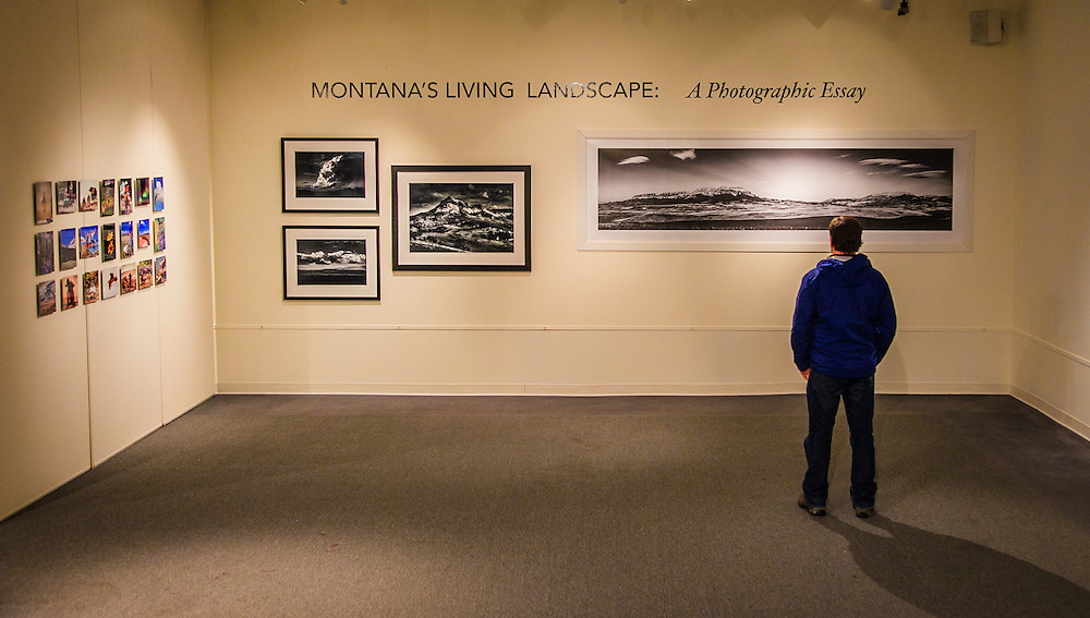 """Helena photographer Jeff Van Tine and Kenton Rowe were twoof seven Montana photographers featured in a four month long exhibit at the Holter Museum.<br /> Montana's Living Landscape: A Photographic Essay at the Holter Museum of Art Sherman Gallery January 18 - April 14, 2013<br /> An exhibit of 100 photographs by Ansel Adams """"Ansel Adams: A Legacy"""" ran at the same time at the Holter Museum."""