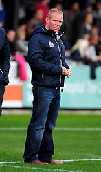 Bristol Rugby's head coach, Liam Middleton - Photo mandatory by-line: Dougie Allward/JMP  - Tel: Mobile:07966 386802 21/10/2012 - SPORT - Rugby Union - British and Irish Cup -  Bristol  - The Memorial Stadium - Bristol Rugby V Ulster Ravens
