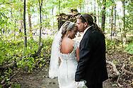 Forest DIY Wedding in Genesee County, Linden Park.