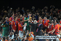 FOOTBALL - FIFA WORLD CUP 2010 - FINAL - NETHERLANDS v SPAIN - 11/07/2010 - PHOTO FRANCK FAUGERE / DPPI - CELEBRATION SPAIN AFTER WINNING THE WORLD CUP TROPHY