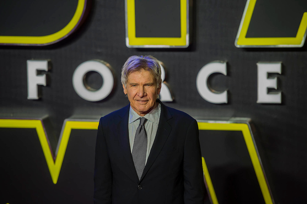 Harrison Ford -  The European Premiere of STAR WARS: THE FORCE AWAKENS - Odeon, Empire and Vue Cinemas, Leicester Square, London.