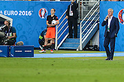 SAINT-DENIS, FRANCE, 10.06.2016 - FRANCE-ROMANIA - Deschamps France coach during game against Romania in a match valid for the 1st round of Group A of Euro 2016 in the Stade de France in Saint-Denis, this sexta- Friday (10).