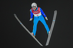 February 10, 2018 - Pyeonchang, Gangwon, South Korea - Martti Nomme ofEstonia  at mens normal hill final at 2018 Pyeongchang winter olympics at Alpensia Ski Jumping Centre, Pyeongchang, South Korea on February 10, 2018. Ulrik Pedersen/Nurphoto  (Credit Image: © Ulrik Pedersen/NurPhoto via ZUMA Press)