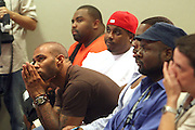 Audience at the Fox King panel ' The Art of Music for Film ' at the 2008 American Black Film Festival held at The Sofitel Hotel on August  9, 2008 ..The Festival film slate is primarily composed of world premieres (shorts, narrative features and documentaries), positioning it as the leading film festival in the world for African American and urban content. Since its inception ABFF, has screened over 450 films and has rewarded and redefined artistic excellence in independent filmmaking.