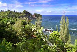 Onomea Bay, Hilo, Big Island, Hawaii