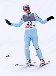 Martin Schmitt of Germany at e.on Ruhrgas FIS World Cup Ski Jumping on K215 ski flying hill, on March 14, 2008 in Planica, Slovenia . (Photo by Vid Ponikvar / Sportal Images)./ Sportida)