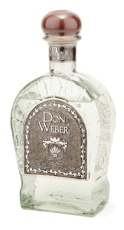 Tequila Don Weber Blanco -- Image originally appeared in the Tequila Matchmaker: http://tequilamatchmaker.com