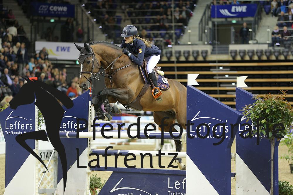 Frauenrath, Johanna Turbud Cicero<br /> Oldenburg - Oldenburger Pferdetage 2013<br /> Internationales Springen<br /> © www.sportfotos-lafrentz.de / Stefan Lafrentz