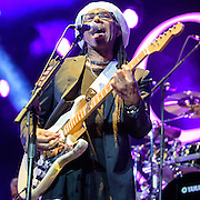 Nile Rodgers of Chic performs at the Verizon Center, opening for Duran Duran on their Paper Gods tour.