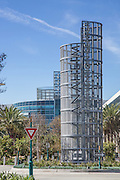 The Anaheim Convention Center Hilton Hotel And The Spire