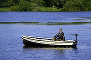 Fishing at ringstead Lakes, northamptonshire