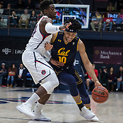 Dec 01 2018  Moraga CA, U.S.A. California Justice Sueing (10) drives to the basket during the NCAA Men's Basketball game between California Golden Bears and the Saint Mary's Gaels 71-84 lost at McKeon Pavilion Moraga Calif. Thurman James / CSM