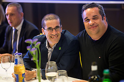 Pablo Perez, ITTF Para Table tennis manager and Gorazd Vecko during Award ceremony at Day 4 of 15th Slovenia Open - Thermana Lasko 2018 Table Tennis for the Disabled, on May 12, 2018, in Dvorana Tri Lilije, Lasko, Slovenia. Photo by Vid Ponikvar / Sportida