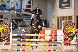 De Rijcker Isabel, BEL, Cuckoo v/d Kattevennen<br /> Pavo Hengsten competitie - Oudsbergen 2021<br /> © Hippo Foto - Dirk Caremans<br />  22/02/2021