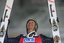 World Champion Todd Lodwick of USA at Ski Jumping Nordic combined  NH Mass start of FIS Nordic World Ski Championships Liberec 2008, on February 20, 2009, in Jested, Liberec, Czech Republic. (Photo by Vid Ponikvar / Sportida)