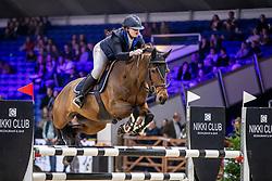 De Proft Anouk, BEL, Q Bee vh Dieselhof Z<br /> Jumping Mechelen 2019<br /> © Hippo Foto - Dirk Caremans<br />  26/12/2019