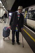 David Kirke, Victoria station. London. 16 January 2016