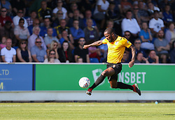 Abu Ogogo of Bristol Rovers controls the ball - Mandatory by-line: Arron Gent/JMP - 21/09/2019 - FOOTBALL - Cherry Red Records Stadium - Kingston upon Thames, England - AFC Wimbledon v Bristol Rovers - Sky Bet League One