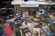 "Crime books in Hay-on-Wye or Y Gelli Gandryll in Welsh, known as ""the town of books"", is a small town in Powys, Wales famous for it's many second hand and specialist bookshops, although the number has declined sharply in recent years, many becoming general antique shops and similar."