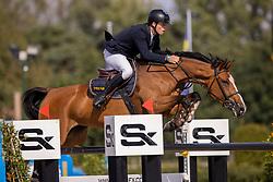 Prouve Simon, BEL, Gloria vh Kapelhof<br /> Belgisch Kampioenschap Jumping  <br /> Lanaken 2020<br /> © Hippo Foto - Dirk Caremans<br /> 02/09/2020