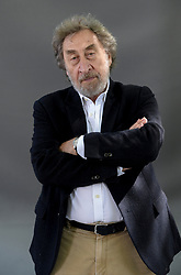 Novelist Howard Jacobson appears at the 2019 Edinburgh International Book Festival.<br /> <br /> Howard Eric Jacobson (born 25 August 1942) is a British novelist and journalist. He is known for writing comic novels that often revolve around the dilemmas of British Jewish characters. He is a Man Booker Prize winner.<br /> <br /> © Dave Johnston / EEm