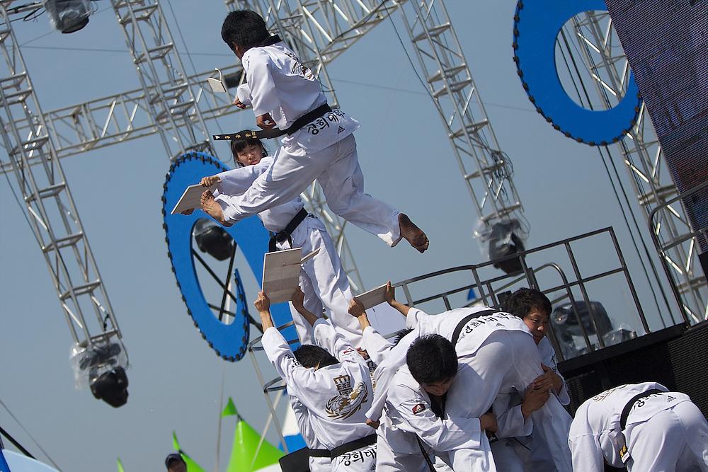 World Match Racing Tour 2010. Korea Match Cup, Gyeonggi, Korea. 9th June 2010, Opening Ceremony.
