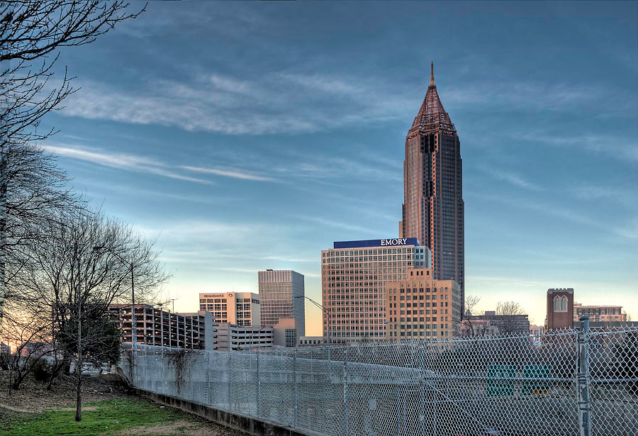 Bank of America skyline