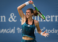 Petra Martic of Croatia in action during her third-round match at the 2018 Western and Southern Open WTA Premier 5 tennis tournament, Cincinnati, Ohio, USA, on August 16th 2018 - Photo Rob Prange / SpainProSportsImages / DPPI / ProSportsImages / DPPI