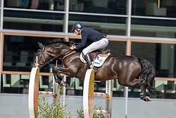 Zuidema Bert Jan, NED, Janko B<br /> Nationaal Kampioenschap KWPN<br /> 6 jarigen springen final<br /> Stal Tops - Valkenswaard 2020<br /> © Hippo Foto - Dirk Caremans<br /> 19/08/2020