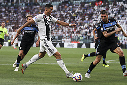 August 25, 2018 - Turin, Italy - Juventus forward Cristiano Ronaldo (7) in action during the Serie A football match n.2 JUVENTUS - LAZIO on 25/08/2018 at the Allianz Stadium in Turin, Italy. (Credit Image: © Matteo Bottanelli/NurPhoto via ZUMA Press)