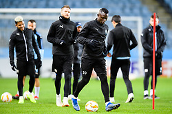 November 28, 2018 - MalmÃ, Sweden - 181128 Bonke Innocent of Malmö FF during a training session ahead of the Europa league match between Malmö FF and Genk on November 28, 2018 in Malmö..Photo: Petter Arvidson / BILDBYRÃ…N / kod PA / 92159 (Credit Image: © Petter Arvidson/Bildbyran via ZUMA Press)