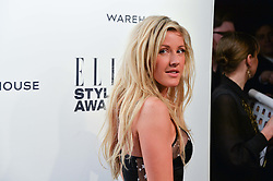 ELLIE GOULDING at the 17th Elle Style Awards 2014 in association with Warehouse held at One Embankment, 8 Victoria Embankment, London on 18th February 2014.