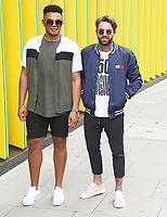 Nathan Henry & Aaron Chalmers, Geordie Shore 15 - Series Launch Photocall, MTV HQ, London UK, 29 August 2017, Photo by Brett D. Cove