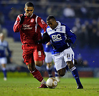 Chucho<br /> Birmingham City 2009/10<br /> Lewis McGugan Nottingham Forest<br /> Birmingham City V Nottingham Forest (1-0) 12/01/10<br /> The FA Cup 3rd Round Replay<br /> Photo Robin Parker Fotosports International