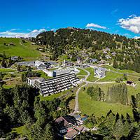 Rigi Kaltbad Panorama Mario Botta Mineralbad und Spo