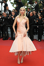 Model Soo Joo Park attends the screening of Sink Or Swim (Le Grand Bain) during the 71st annual Cannes Film Festival at Palais des Festivals on May 13, 2018 in Cannes, France. Photo by Shootpix/ABACAPRESS.COM