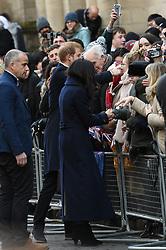 Prince Harry & Ms Megan Markle visit the Nottingham Contemporary for the Terrace Higgins Trust world Aids Day<br /><br />1 December 2017.<br /><br />Please byline: Neil Warner -Vantagenews.com