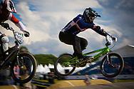#69 (GODET Damien) FRA at the UCI BMX Supercross World Cup in Papendal, Netherlands.
