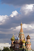 St Basil's Cathedral, Red Square, Moscow, Russia