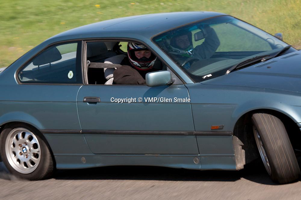 Drifting practice, Pembrey Circuit April 2011
