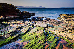 Seascape o the west coast of Great Cumbrae looking towards the Isle of Bute, Scotland<br /> <br /> (c) Andrew Wilson | Edinburgh Elite media